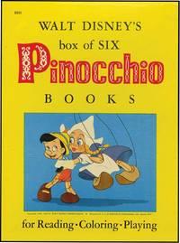 WALT DISNEY'S BOX OF SIX PINOCCHIO BOOKS