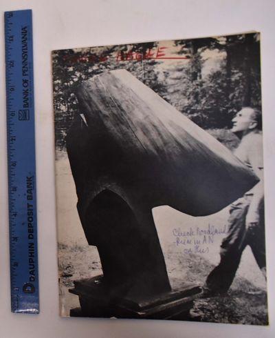 Washington, DC: Washington Gallery of Modern Art, 1964. Paperback. VG- light interior foxing, writin...