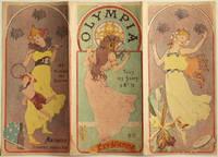 Carte programme de l'Olympia, 1899 [lithographie en couleurs]