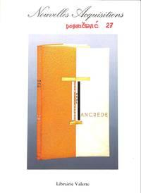 Catalogue no. no./no date: Nouvelles Acquistions.