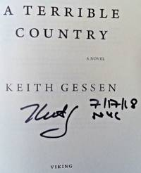 A Terrible Country (SIGNED, DATED, & NYC)