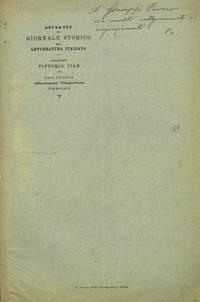 Le ultime visite a Modena e la morte di Antonio Cesari in documenti modenesi.