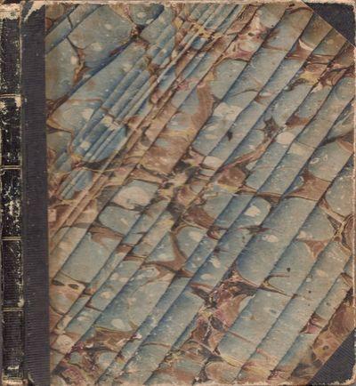 n.p.: n.p., 1832. Original. Manuscript. Good. Journal. Approx. 8.5