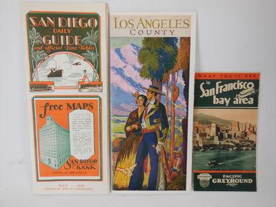 Three Vintage California Tourist...