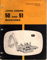 image of Operator's Manual, John Deere 50 And 51 Backhoes