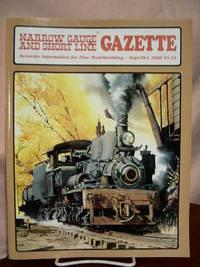 image of NARROW GAUGE AND SHORT LINE GAZETTE - SEPTEMBER/OCTOBER, 1988; VOLUME 14, NUMBER 4