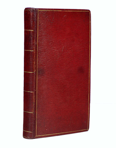 N.P., 1797. Bound in late eighteenth-century full red roan. Covers with gilt single fillet border, s...