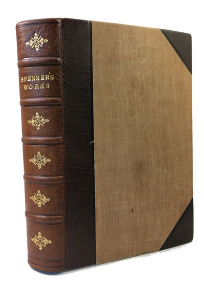 London: MacMillan and Co, 1897. Hardcover. Very Good. lv, 736, (2)p. Rebound in attractive 1/2 lealt...
