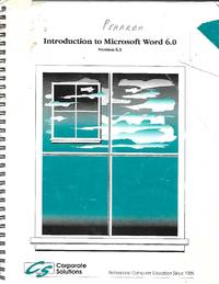 Introductory to Microsoft Word 6.0