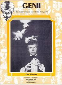 image of Genii: The International Conjurors Magazine: September 1982