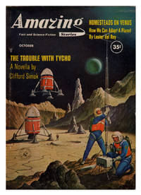 image of The Trouble with Tycho in Amazing Stories October 1960