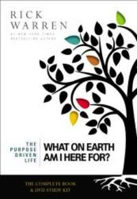 image of What On Earth Am I Here For? Curriculum Kit (Book + DVD) (The Purpose Driven Life)