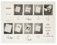 [From upper left compartment]: Books by Edward Ruscha