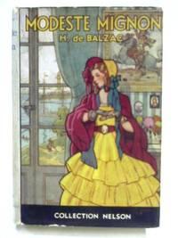Modeste Mignon by Honore De Balzac - Hardcover - 1932 - from The World of Rare Books and Biblio.com