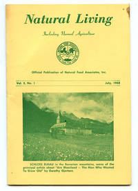 image of Natural Living Including Normal Agriculture Vol. 3, No. 1 (July, 1953)