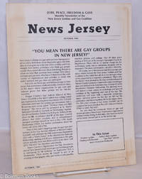 """image of News Jersey: monthly newsletter of the NJ Lesbian & Gay Coalition; October, 1983: """"You Mean There Are Gay Groups in New Jersey?"""