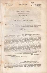 drop-title] INDIAN SCHOOL FUND. Letter from the Secretary of War, transmitting reports of the Second Auditor and the Commissioner of Indian Affairs, relative to the school fund belonging to each Indian tribe, &c. May 4, 1844. Read, and referred to the Committee on Indian Affairs.
