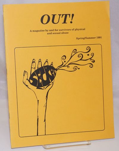 Berkeley: Out!, 1991. Magazine. 15p., 8.5x11 inches, articles, poetry, prose, services and resources...