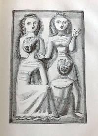 Liriche di Saffo: 12 lithographs in full page by Massimo Campigli.