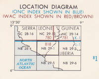 Bo, Sierra Leone; Liberia; Joint Operations Graphic (Air) map 1:250,000