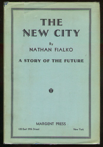 New York: Margent Press, 1937. Hardcover. Near Fine/Near Fine. First Edition. Near fine in a near fi...