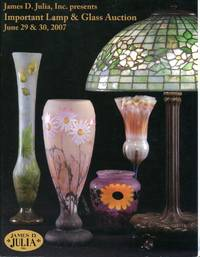 James D. Julia, Inc. Presents: Important Lamp and Glass Auction at our Fairfield, Maine facility