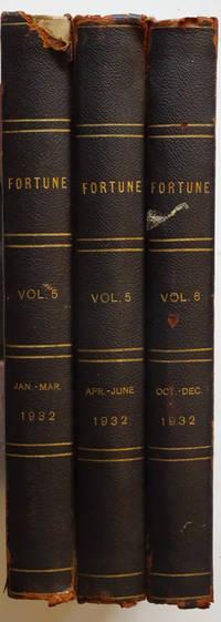 image of Fortune Magazine, Volume 5, Jan. - Mar. And Apr.-Jun. And Vol. 6, Oct. - Dec., 1932