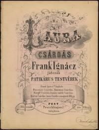 Collection of 4 csárdás for piano