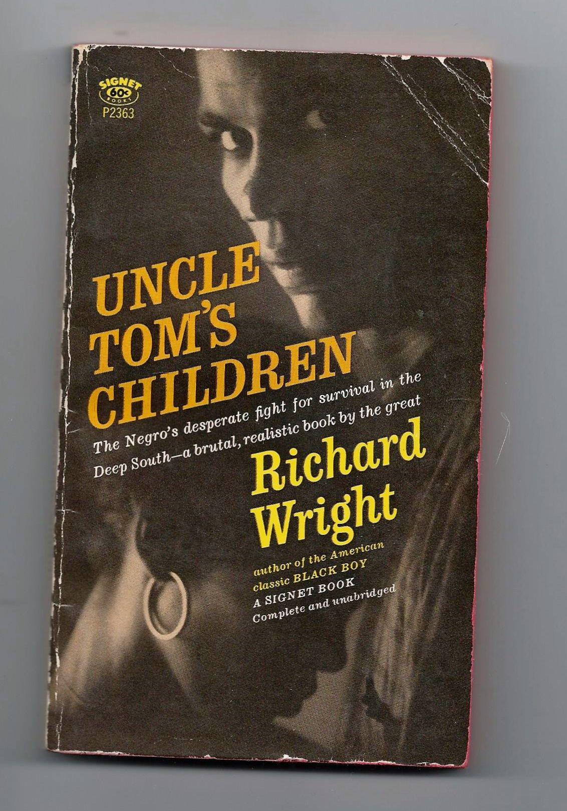 Uncle tom 39 s children by richard wright paperback 1st for Uncle tom s cabin first edition value
