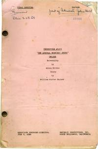 image of The Eternal Sea [The Admiral Hoskins Story] (Original screenplay for the 1955 film)