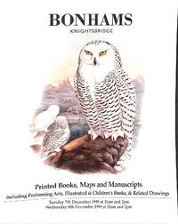 Sale 7-8 December 1999: Printed Books, Maps and Manuscripts, Incl.  Performing Arts, Illustrated and Children's Books, Related Drawings ...
