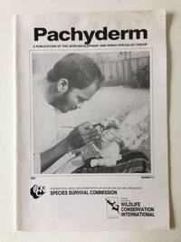Pachyderm A Publication of the African Elephant and Rhino Specialist Group  Number 11  1989