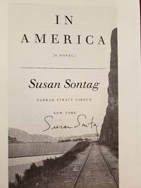 IN AMERICA, a Novel (SIGNED)