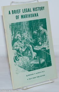 image of A Brief Legal History of Marihuana