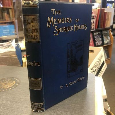 London: George Newnes, 1894. First Edition, first printing. Hardcover. Large Octavo; VG-; Blue spine...