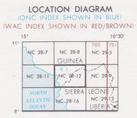 Kambia, Sierra Leone; Guinea Joint Operations Graphic (Air) map 1:250,000