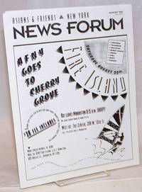 Asians & Friends New York - New Forum: vol. 5, #8, August 1992;  Fire Islan - AFNY goes to Cherry Grove