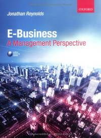 image of Ebusiness: A Management Perspective