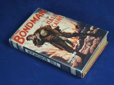 London: Readers Library, 1929. Caine, Hall. THE BONDMAN (English Film Tie-In Edition]. London: Reade...