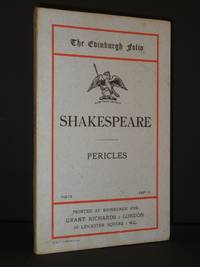 Pericles by William Shakespeare - 1st Edition  - 1901 - from Tarrington Books and Biblio.com