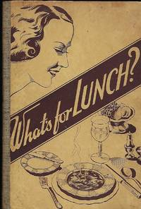 WHAT'S FOR LUNCH. NEW ZEALAND COOKBOOK