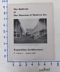 image of Exposition Architecture : The Bulletin of The Museum of Modern Art, Volume 4, No. 3, January 1936