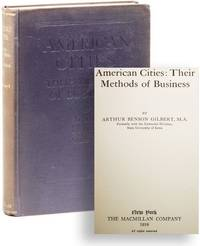 American Cities: Their Methods of Business