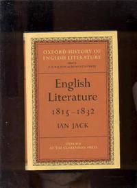 ENGLISH LITERATURE 1815-1832 (OXFORD HISTORY OF ENGLISH HISTORY)