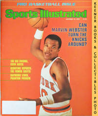 image of Sports Illustrated Magazine, October 16, 1978 (Vol 49, No. 16) : Can  Marvin Webster Turn The Knicks Around?