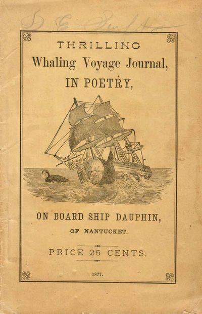 Mattapoisett, MA: Atlantic Publishing Co., 1877. sep 22 2017. 39 pp. b/w wood engravings. This work ...