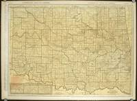 Rand McNally Standard Map of Oklahoma