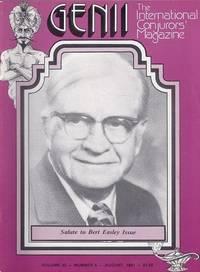 image of Genii: The International Conjurors Magazine: August 1981