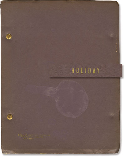 N.p.: N.p., 1970. Draft script for the 1973 production of Philip Barry's 1928 play. With a few subst...