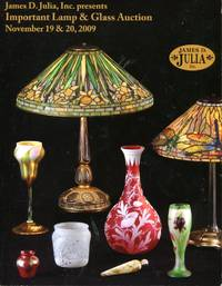 James D. Julia, Inc. Presents: Important Lamp and Glass Auction at our Fairfield, Maine facility by  Inc James D. Julia - Paperback - 2009 - from Blue Jacket Books and Biblio.com